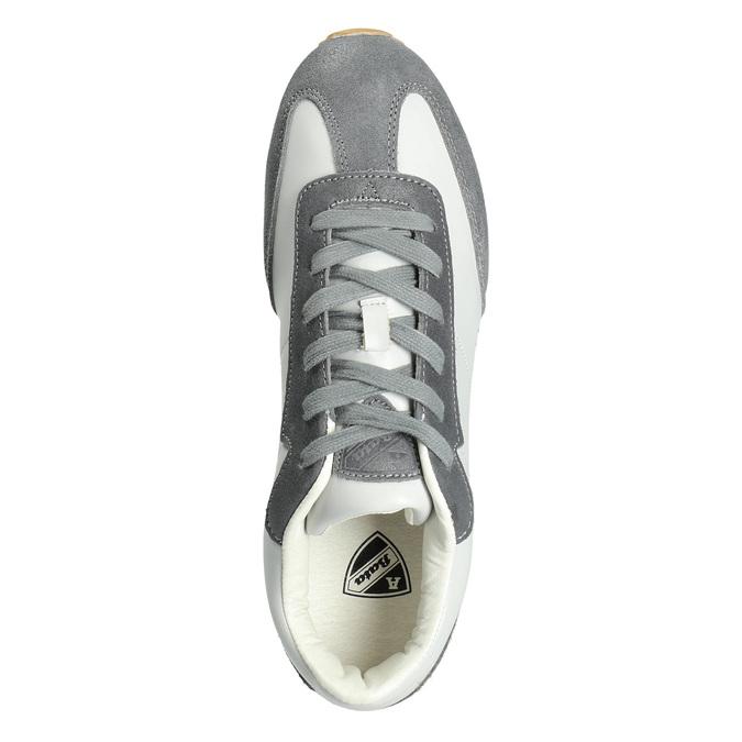Pánske ležérne tenisky atletico, šedá, 801-2180 - 15
