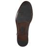 Modré pánske kožené poltopánky bata, modrá, 826-9913 - 19