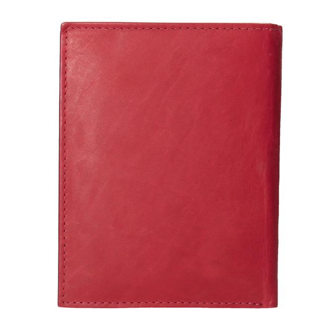 Dámska kožená peňaženka bata, červená, 944-5179 - 16