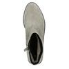 Členková obuv z brúsenej kože bata, šedá, 593-2603 - 26