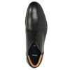 Kožená pánska členková obuv bata, čierna, 824-6913 - 26