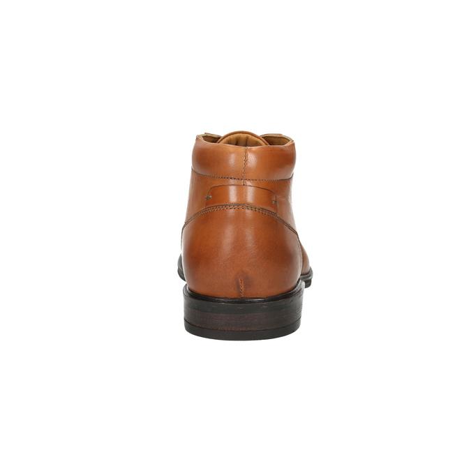 Pánska kožená Ombré obuv bata, hnedá, 826-3913 - 17