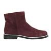 Členková obuv z brúsenej kože bata, červená, 593-5603 - 15