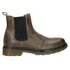 Dámska kožená Chelsea obuv bata, hnedá, 596-7680 - 26