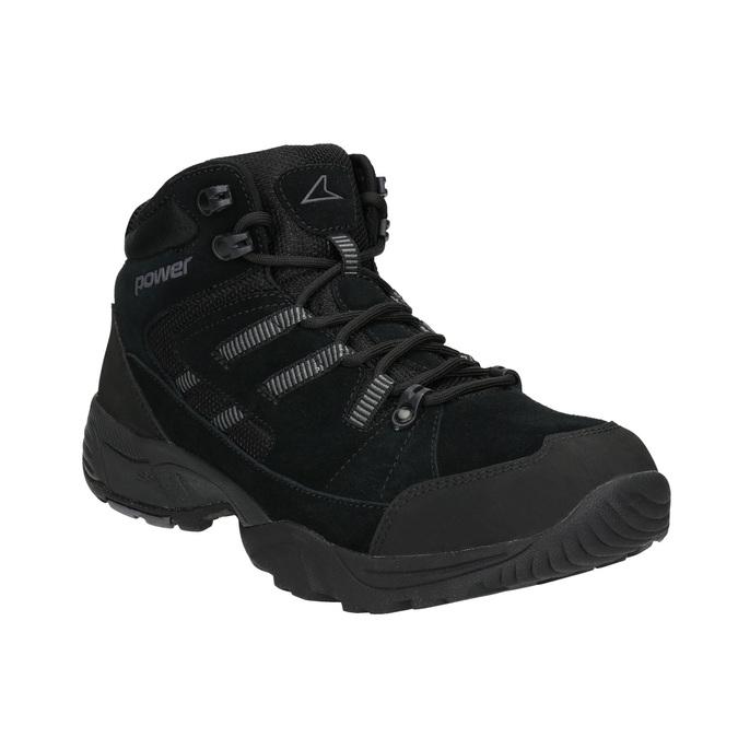 Pánska členková Outdoor obuv power, čierna, 803-6232 - 13