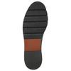 Kožená dámska Chelsea obuv bata, čierna, 596-6657 - 19