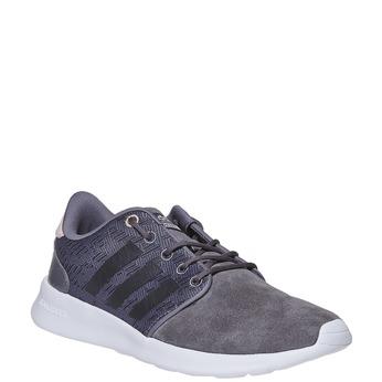 Kožené dámske tenisky adidas, šedá, 503-2111 - 13