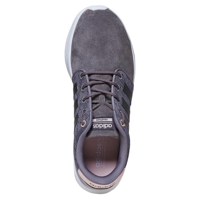 Kožené dámske tenisky adidas, šedá, 503-2111 - 19