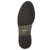 Pánske kožené poltopánky bata, hnedá, 826-3916 - 19