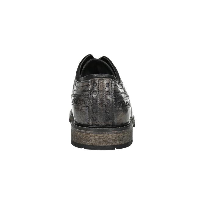 Ležérne pánske poltopánky bata, hnedá, 826-4916 - 17
