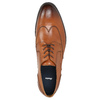 Kožené pánske Ombré poltopánky bata, hnedá, 826-3914 - 26