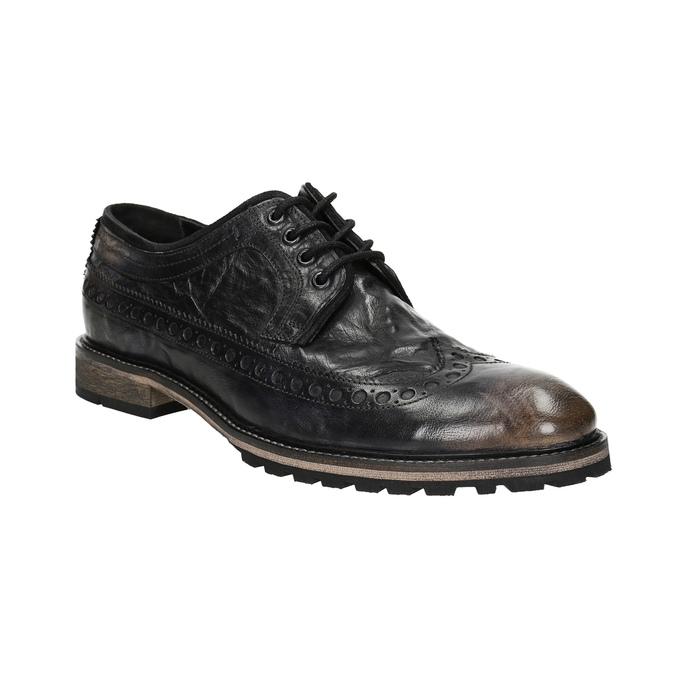 Ležérne pánske poltopánky bata, hnedá, 826-4916 - 13