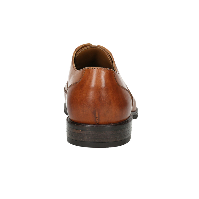 Kožené pánske Ombré poltopánky bata, hnedá, 826-3914 - 17