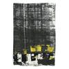 Dámska šatka so žíhaním bata, čierna, 909-6628 - 26