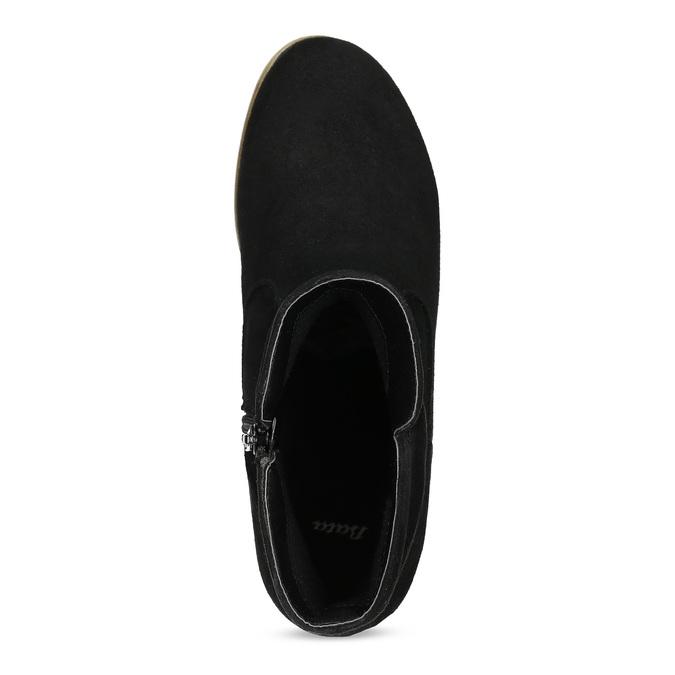 Dámské členkové čižmy bata, čierna, 599-6614 - 17