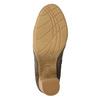 Dámske čižmy s riasením bata, hnedá, 799-4614 - 19