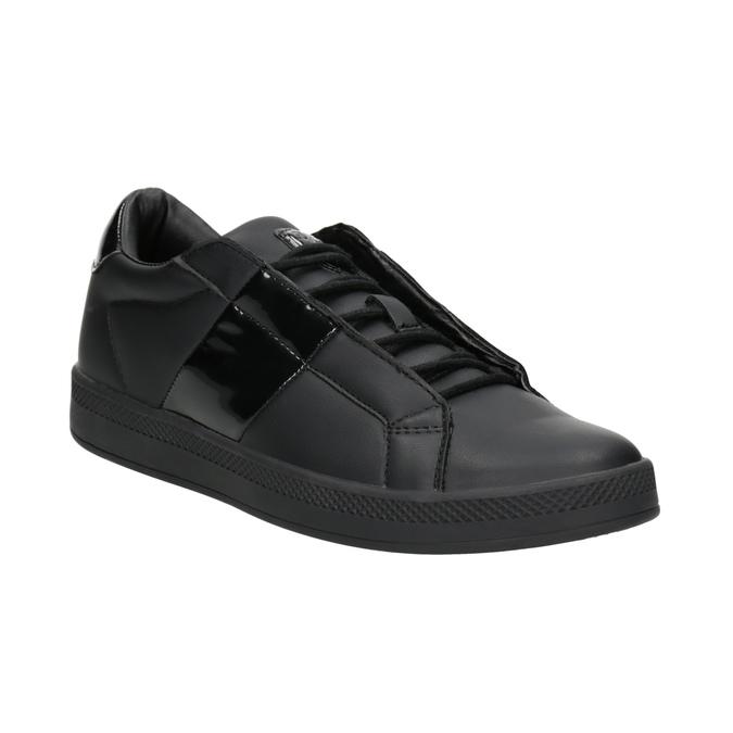 Čierne dámske tenisky atletico, čierna, 501-6171 - 13