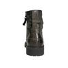 Členková kožená obuv bata, šedá, 896-2663 - 17