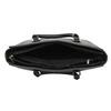 Čierna dámska kabelka s popruhom bata, čierna, 961-6822 - 15