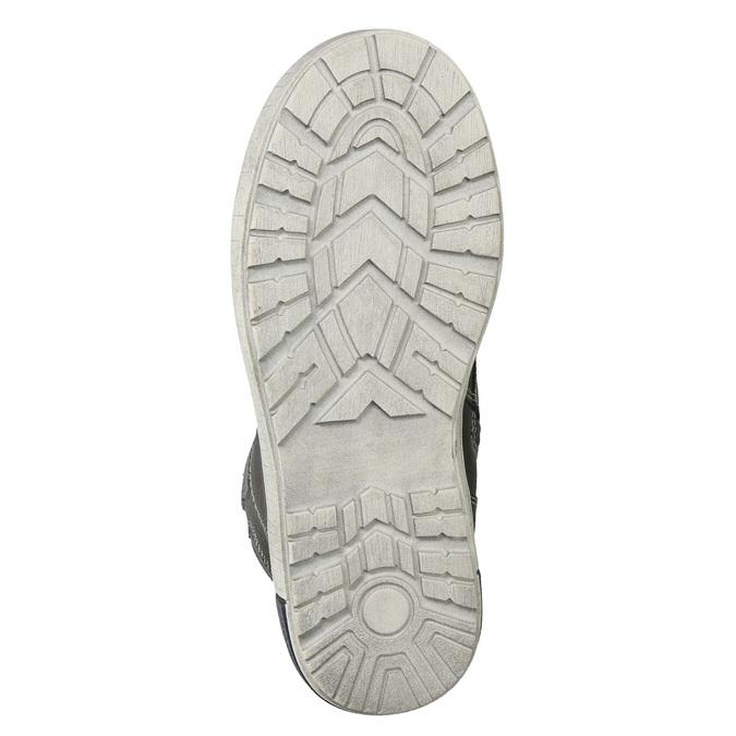 Členková detská obuv mini-b, šedá, 494-2655 - 19