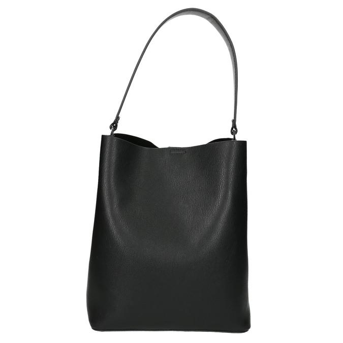 Dámska dvojfarebná kabelka bata, čierna, 961-6173 - 17