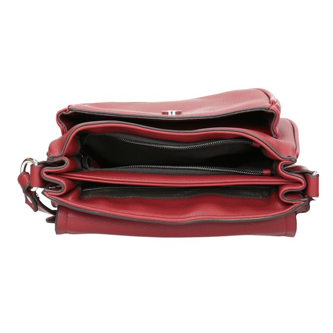 Červená Crossbody kabelka bata, červená, 961-5161 - 15