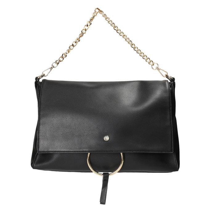 Dámska listová kabelka s retiazkou bata, čierna, 961-6164 - 26