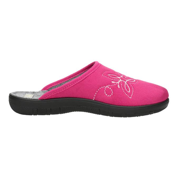 Ružové dámske papuče bata, ružová, 579-5621 - 15