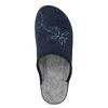 Dámska domáca obuv modrá bata, modrá, 579-9621 - 17