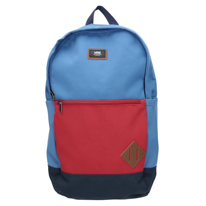 Modrý batoh s červeným vreckom vans, modrá, 969-9095 - 26