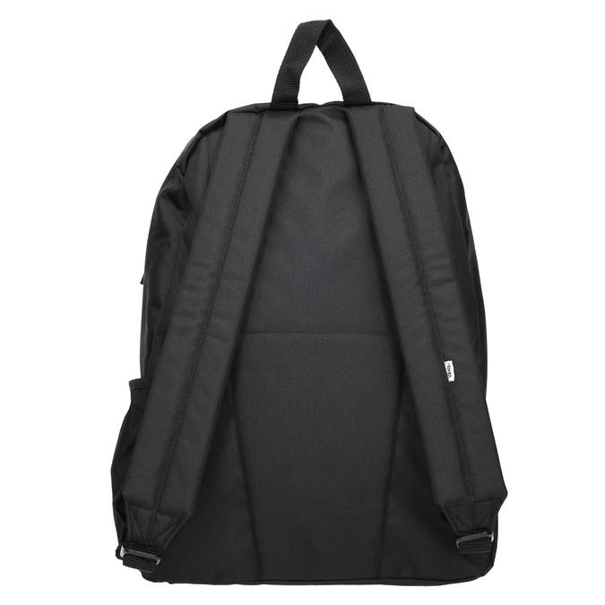 Čierny batoh s logom vans, čierna, 969-6078 - 16