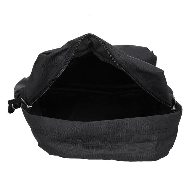 Čierny batoh s logom vans, čierna, 969-6078 - 15