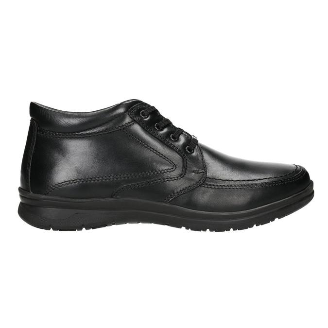 Pánska zimná obuv comfit, čierna, 894-6686 - 15
