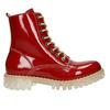 Dámska lakovaná obuv s masívnou podrážkou weinbrenner, červená, 598-5604 - 26