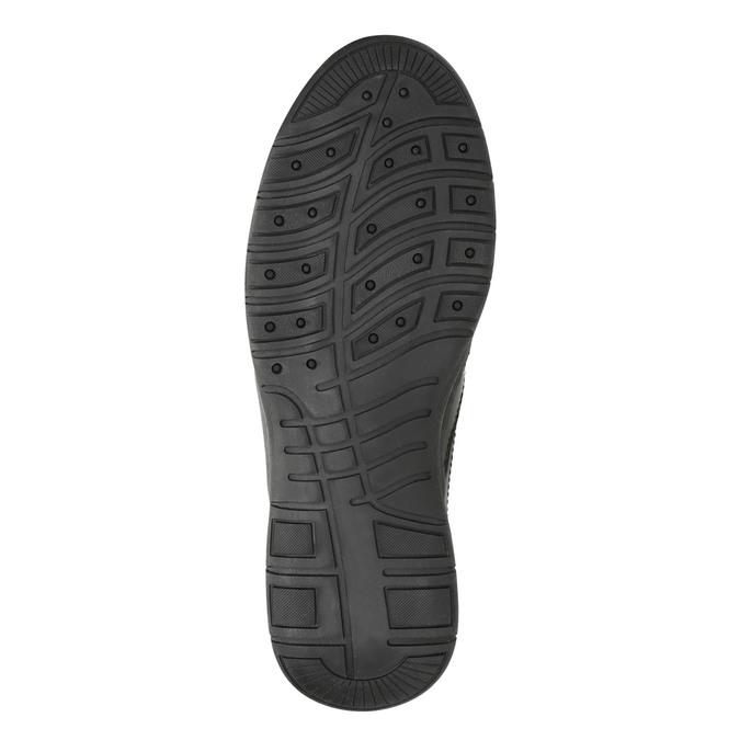 Pánska zimná obuv comfit, čierna, 894-6686 - 19