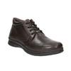 Kožená pánska zimná obuv comfit, hnedá, 894-4686 - 13