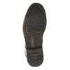 Pánska kožená členková obuv bata, čierna, 896-6690 - 17