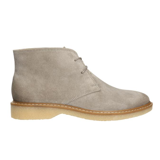 Dámske kožené Desert Boots bata, šedá, 593-2608 - 15