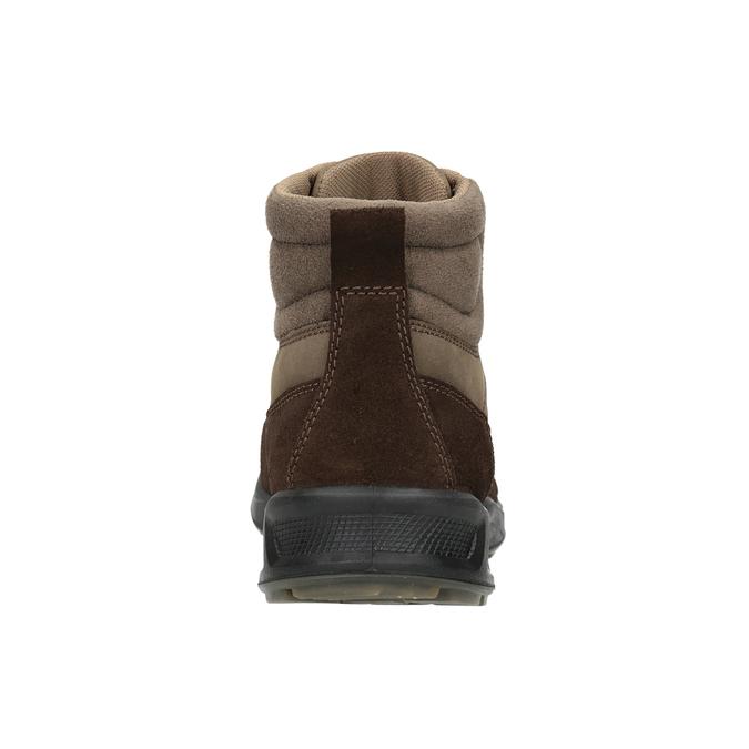 Kožená pánska obuv weinbrenner, hnedá, 846-4647 - 16