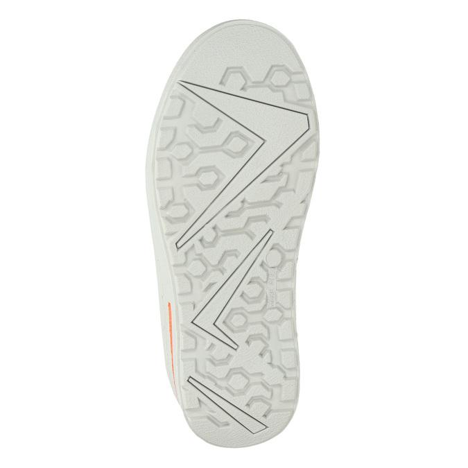 Detská zimná obuv z kože weinbrenner-junior, zelená, 493-7612 - 17
