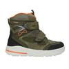 Detská zimná obuv z kože weinbrenner-junior, zelená, 493-7612 - 26