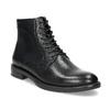 Kožená členková dámska obuv vagabond, čierna, 524-6010 - 13