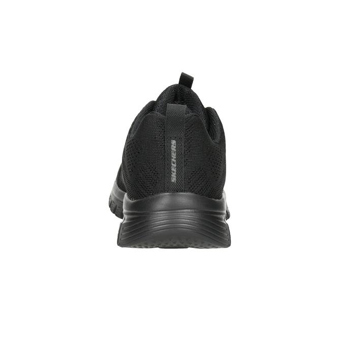 Čierne športové tenisky s perforáciou skechers, čierna, 509-6318 - 16