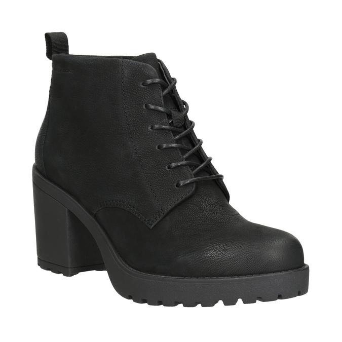 95c61669c4273 Členková dámska obuv na podpätku vagabond, čierna, 726-6016 - 13