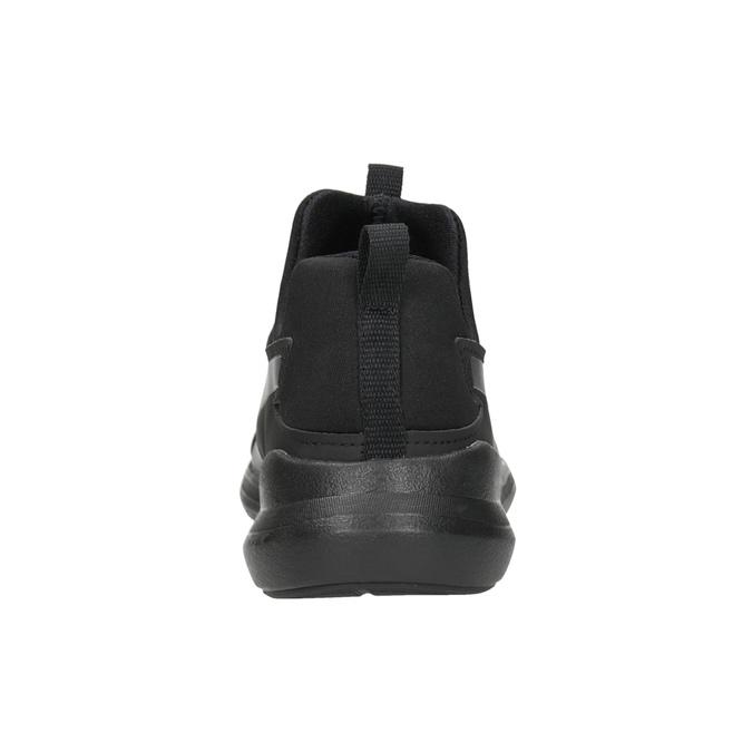 Čierne dámske tenisky bez šnurovania puma, čierna, 509-6200 - 16