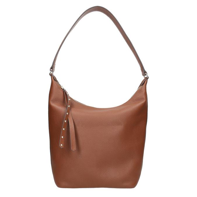 Kožená dámska kabelka bata, hnedá, 964-4274 - 26