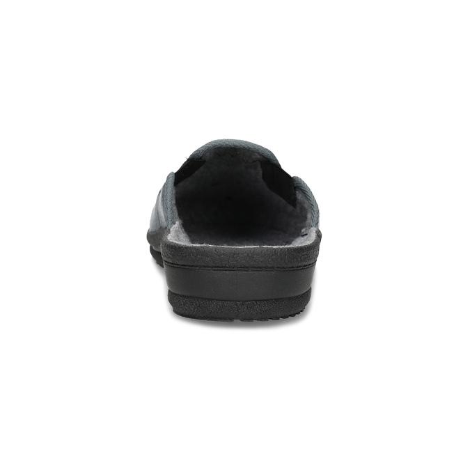 Pánska domáca obuv bata, šedá, 879-2610 - 15