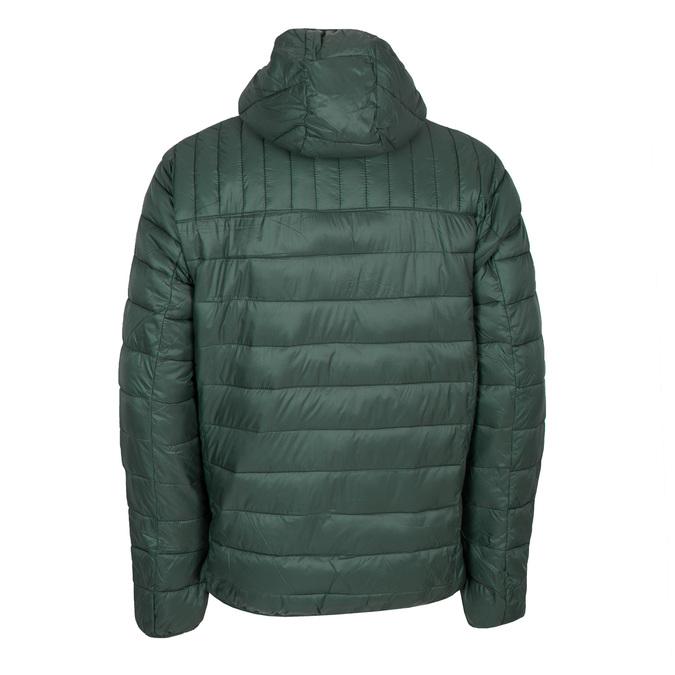 Pánska prešívaná bunda s kapucňou bata, zelená, 979-7143 - 26
