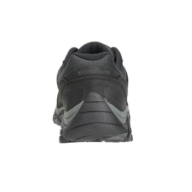 Pánska kožená obuv v Outdoor štýle merrell, čierna, 806-6561 - 16