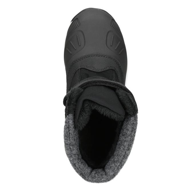 Detská zimná obuv na suchý zips icepeak, čierna, 399-6018 - 15